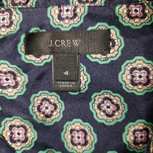 J. Crew Tops - J. Crew %100 Silck BOHO style shirt